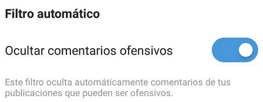 filtro automatico instagram